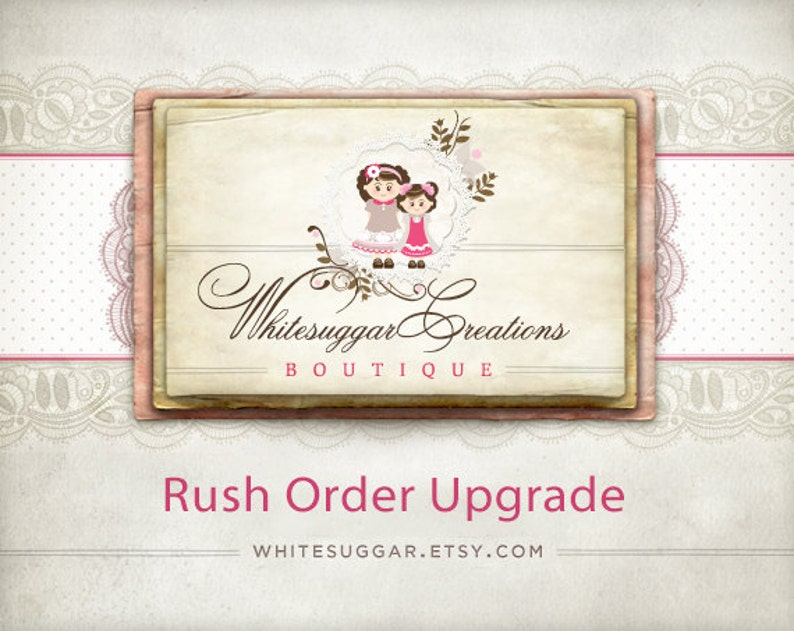 Rush My Order... Upgrade  Please message us before ordering image 0