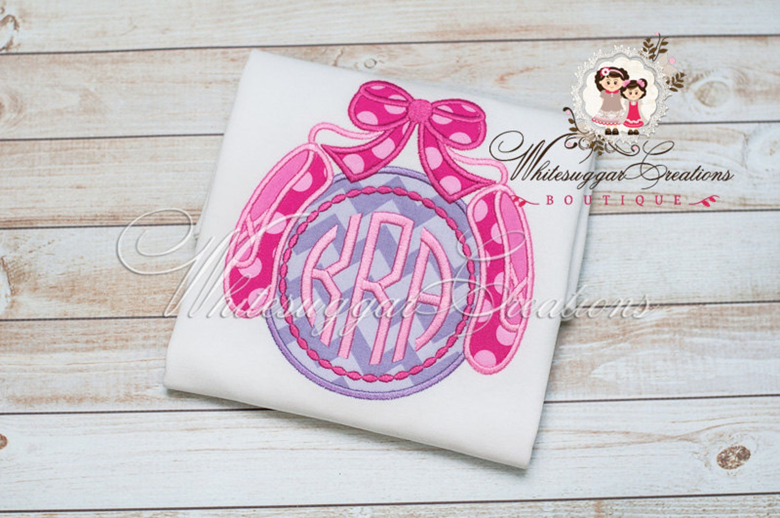 girls ballet shoes monogrammed shirt - custom ballerina shirt - ballet recitals monogrammed shirt - dance recital bodysuit