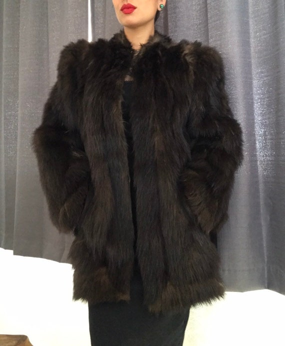 Teply House of fur Vintage coat
