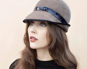 5cb4e08641c The Serena Felt Hat