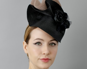 c2d19f661d7 Elegant Race Millinery Occasion Hats   Luxury by MaggieMowbrayHats