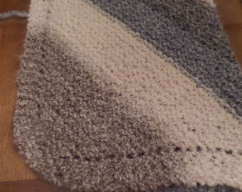 Hand Knit Baby Blanket