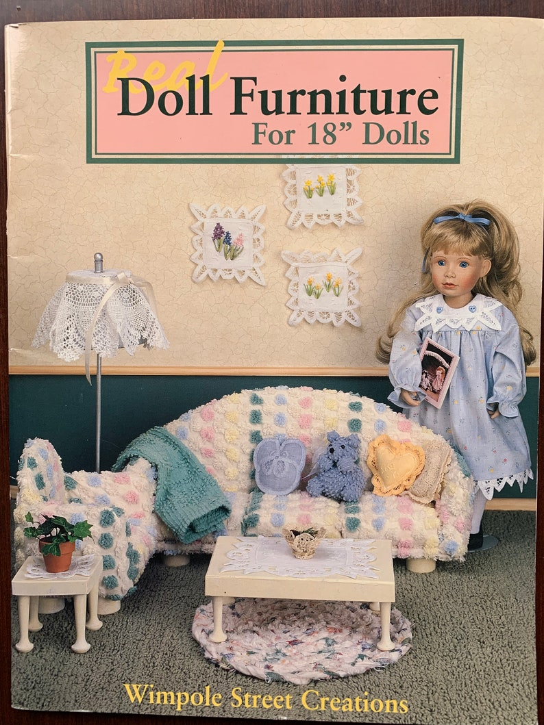 Peachy So Cute Doll Furniture And Clothes Instructions And Patterns For 18 Dolls Like American Girl So Many Cute Things To Make Download Free Architecture Designs Ferenbritishbridgeorg