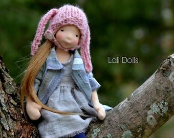 Rosy Posy Doll - KIT with PDF Pattern