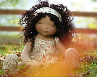 Wild Flower Doll - Kit and pdf Pattern