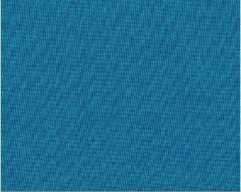 Artisan Cotton from Windham Fabrics - Full or Half Yard Blue Aqua Cross-Dyed Cotton Blender - 40171-35