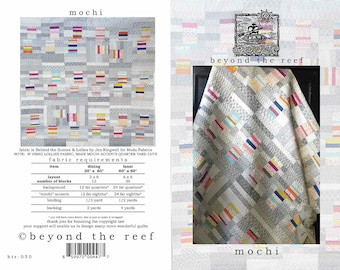 Mochi from Beyond the Reef Quilt Pattern - Modern Quilts