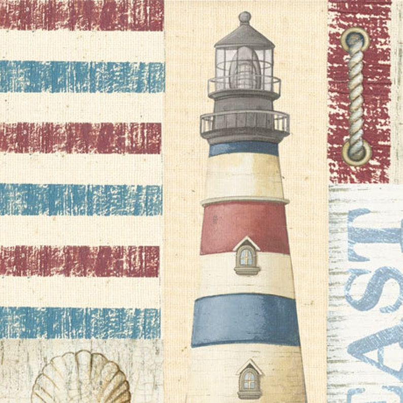 Peachy Seaside Patch Seaside From Quilting Treasures Half Yard Lobsters Gone Fishing Shells Shabby Chic Ocean Lighthouse Fish Home Interior And Landscaping Synyenasavecom