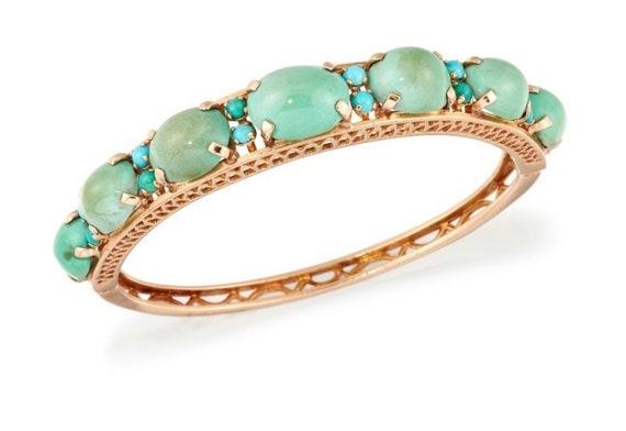 Victorian Turquoise Gold Bracelet