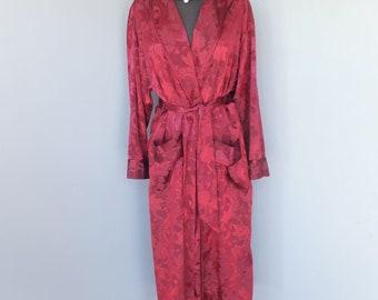 aa582d8505e Vintage 1980s Gold Label Victoria s Secret Robe