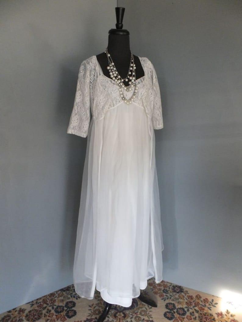 0f27be6108258 Vintage Peignor Set Lisette Al Sterling 2 pc White Lace & | Etsy