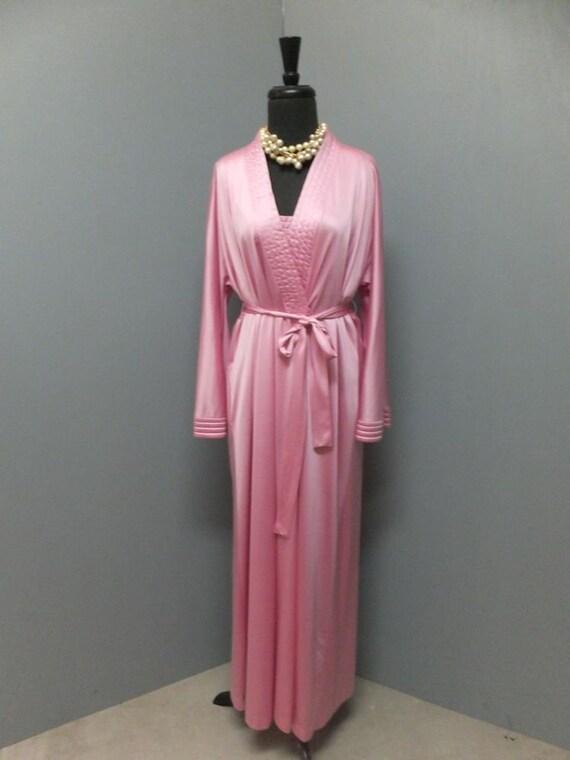 Vintage Vanity Fair Floor Length Nightgown & Match
