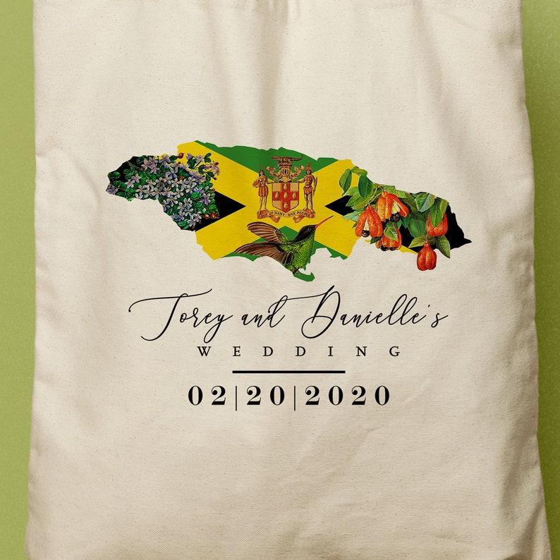 jamaican map flag national flower bird and fruit custom  etsy