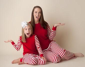 Christmas pajamas adult pajamas family pajamas etsy