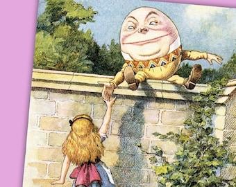 Alice in Wonderland 32 7x5 illustrations by John Tenniel