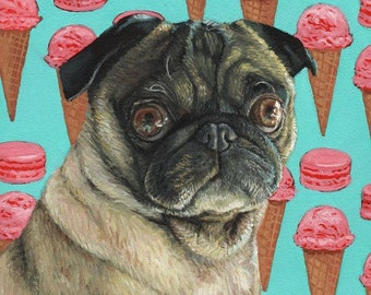 Snack Time print- 2 sizes available
