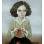 With Love. Signed Print of an Original Oil Painting