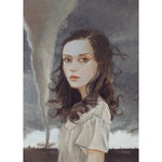 The Storm. Signed Print of an Original Oil Painting