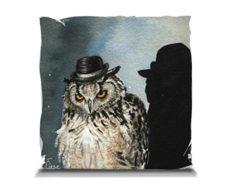 Pillow -14x14 inches -The Muscle