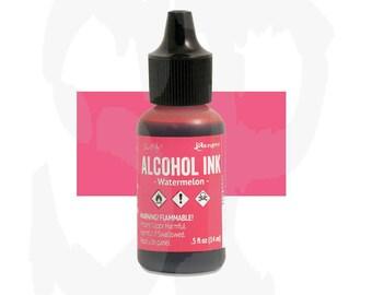 Ranger - Tim Holtz - Alcohol Ink - WATERMELON - Pink