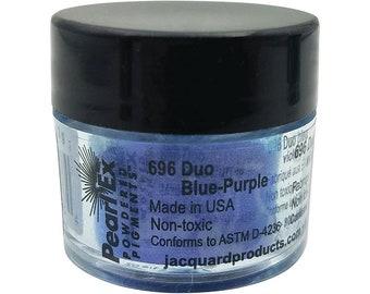 3 gram jar  JPXU644 Jacquard Pearl Ex #644 REFLEX VIOLET Powdered Pigments