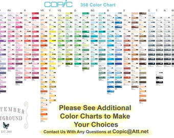 Copic Sketch Markers Your Choice of 12 Colors Closeout | Etsy
