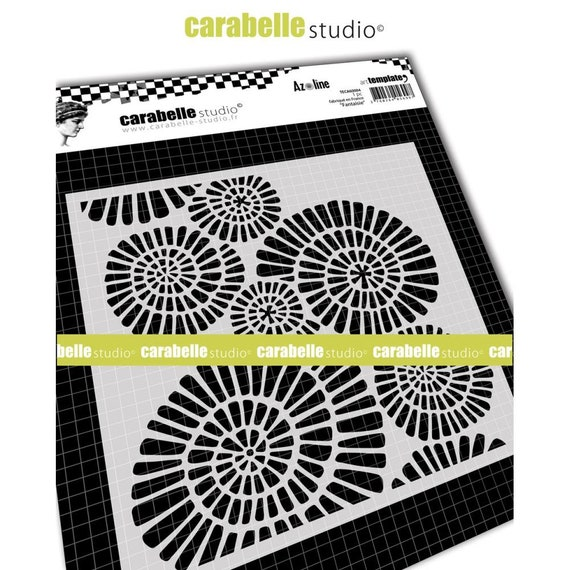 Carabelle Studio Cling Stamp A6 By Azoline Trio Of Lace SA60407