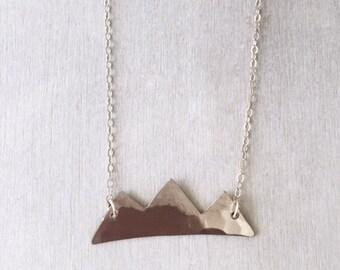 Mountain Bar Necklace