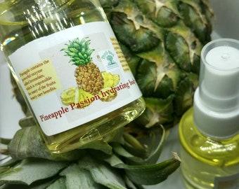 Pineapple Passion Bath Oil and and Lush Bath Soap Bar Set.