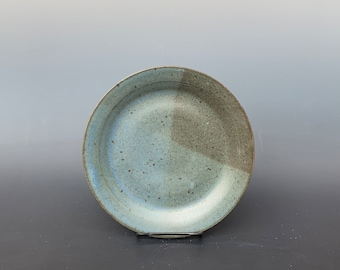 Speckled Blue Salad Plate by Lynn Isaacson
