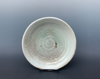 Snowy Mountain Wood Fired Plate by Lynn Isaacson