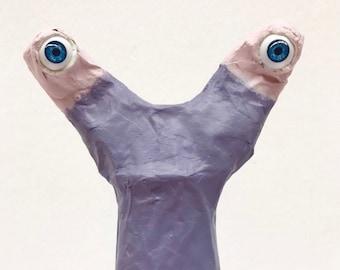 Our Snail Hilde Lacaluna sculpture
