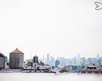 Manhattan Skyline from Brooklyn Grange - 8x10 Fine Art Print