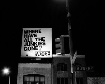 Fine Art Print - 11x17 - Where Have All the Junkies Gone