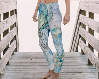 Yoga Pants in original Lorelei design