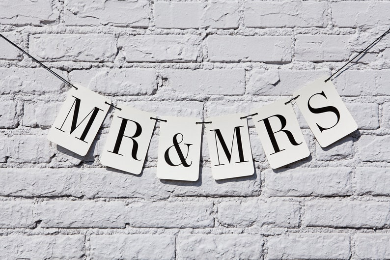 Mr. and Mrs. Rectangle Banner image 0