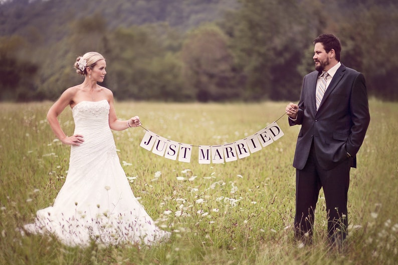 Just Married Banner: Rectangle image 0
