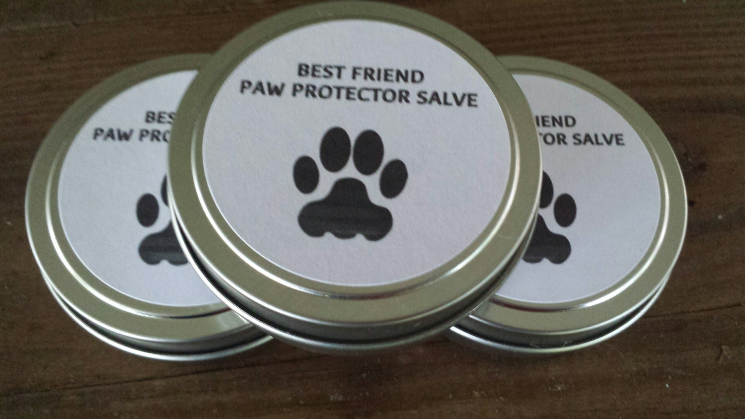Best Friend's Paw Protector Salve - For Dry, Cracked Dog or