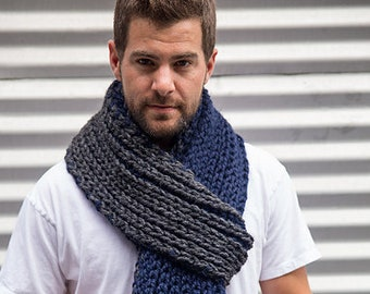 Knitting Pattern // The Vesterbro Del To Scarf Pattern