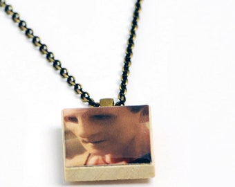 Upcycled Odo Necklace in Antique Brass - Star Trek DS9 Necklace, Odo Jewelry, Star Trek Necklace, Star Trek DS9 Jewelry, One of a Kind