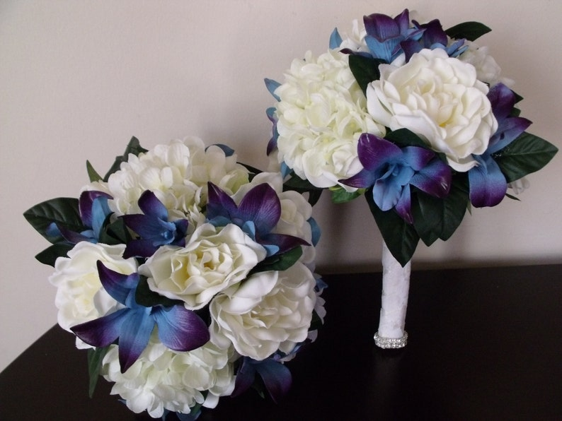 flower girl Wedding bridesmaids maid of honor prom toss jr bridesmaid Design your own Bridesmaids bouquet