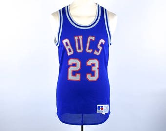 Michael Jordan High School Jersey by Russell Athletic, Size 38, Excellent Condition
