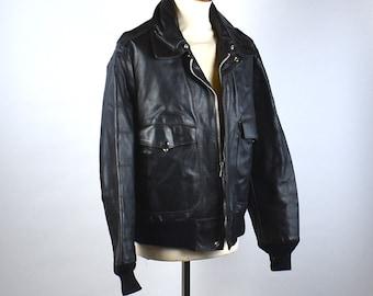 79164dd0d Schott bomber jacket   Etsy