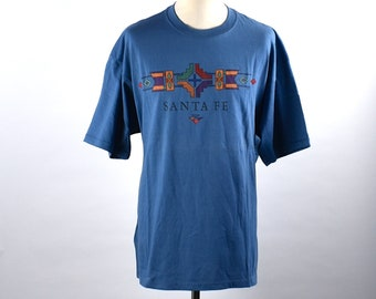 1990's Santa Fe, New Mexico Tourist T-shirt, Extra Large, 100% Cotton