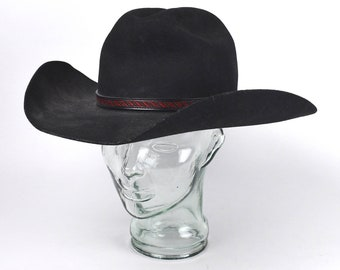 9c983348e4413 Western Style Men s Black Cowboy Hat by Master Hatters of Texas