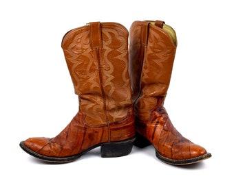 2e4f80e022b Eel cowboy boots | Etsy