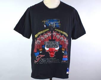 1992 NBA Finals Chicago Bulls T-shirt by Nutmeg 6838841e7