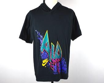 3422f1bbb921 Original NIKE AIR Short Sleeve T-Shirt with Hood