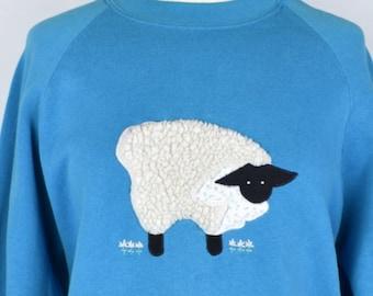 Fuzzy Sheep Sweatshirt