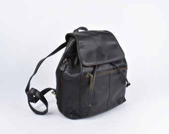 471d39c01c20 Soft Brown Leather Backpack by Liz Claiborne